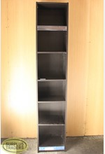 Book Shelf Cubby Unit Black
