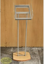 Brochure Holder on Stand