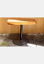 Cafe Table with Round Base