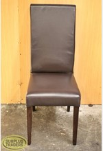 Dining Chair High Top Brown