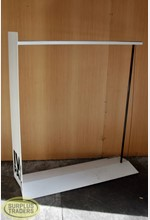 Metal Frame Single Rail Rack