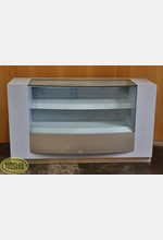 Counter Display Case Blue