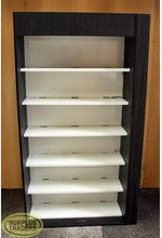 Display Shelving Unit Brown