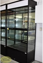 Glass Display Unit 2 Level