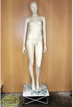 Mannequin Female on Plinth
