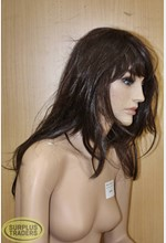 Mannequin Wig Dark Brown