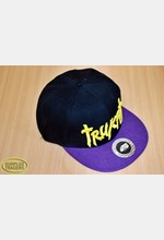 Baseball Cap Black / Purple