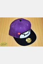 Baseball Cap Purple / Black