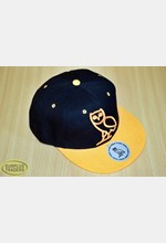 Baseball Cap Orange/Black