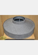 Lamp Shade Grey Round
