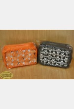 Cosmetic Bag Clear Assorted