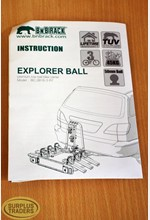 New Explorer Ball Bike Rack