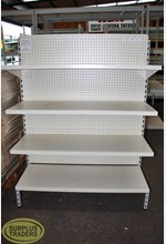 Single Sided Dairy Shelving
